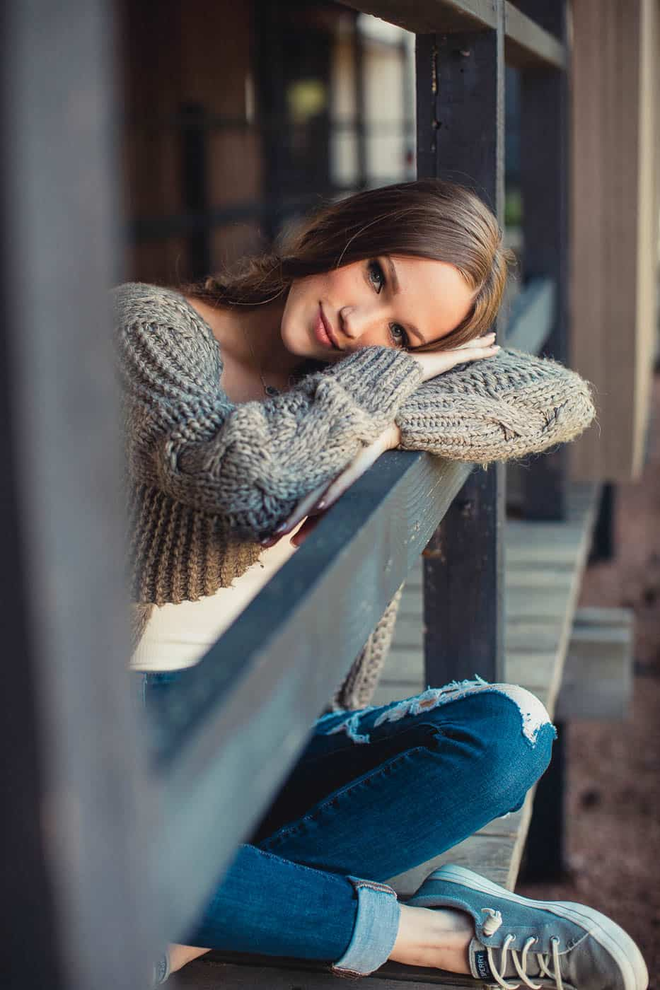 Relaxed and fun portraits