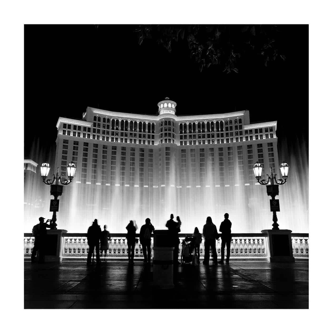 Las Vegas Light Show at the Bellagio