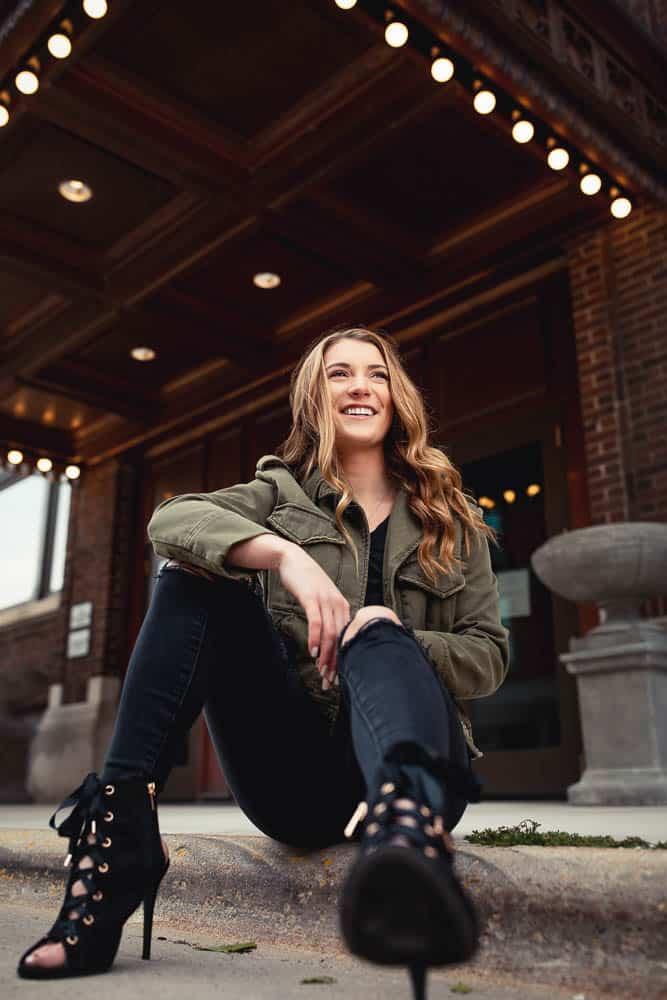 Urban Street looks for senior portraits