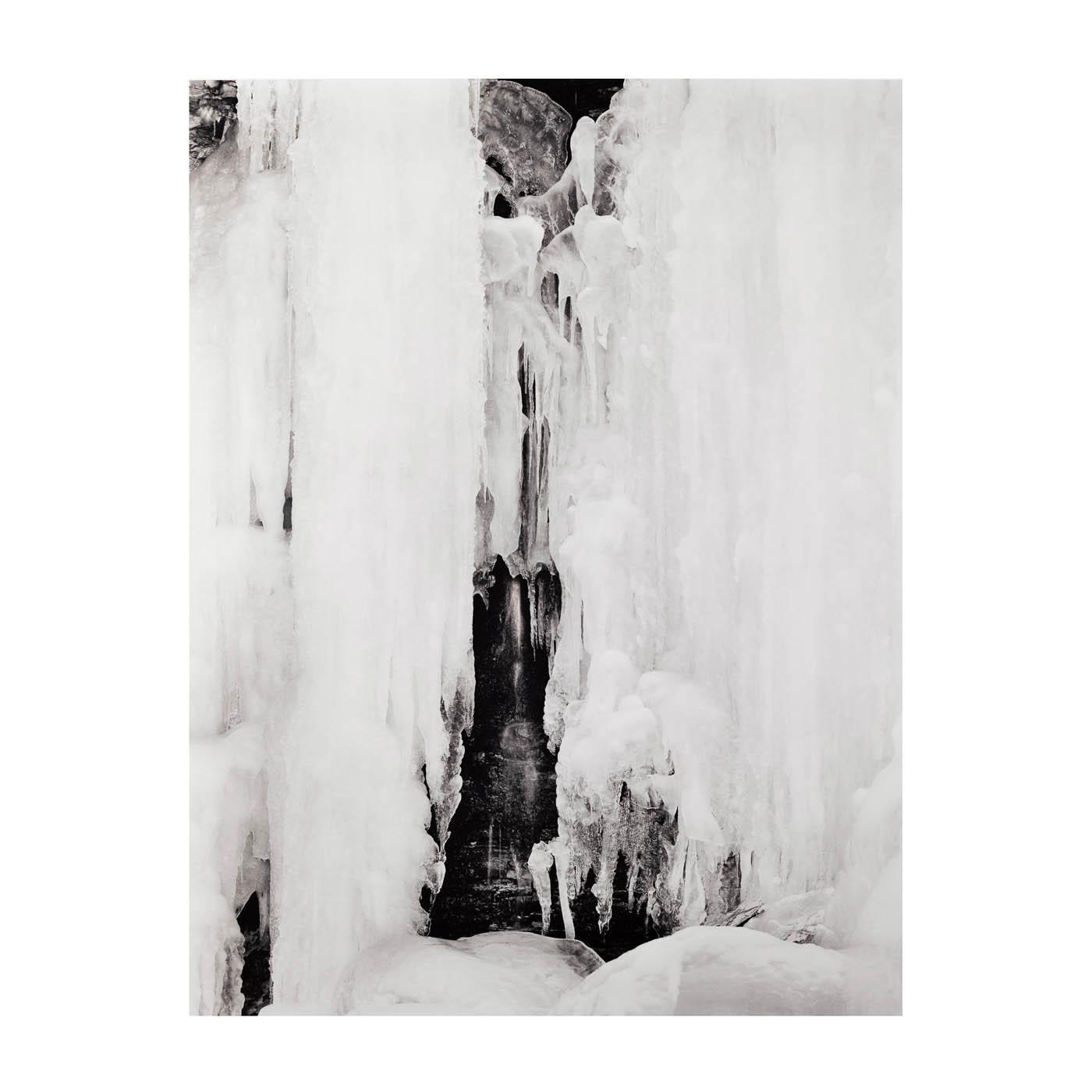 Wequiock Falls frozen in Green Bay Wisconsin