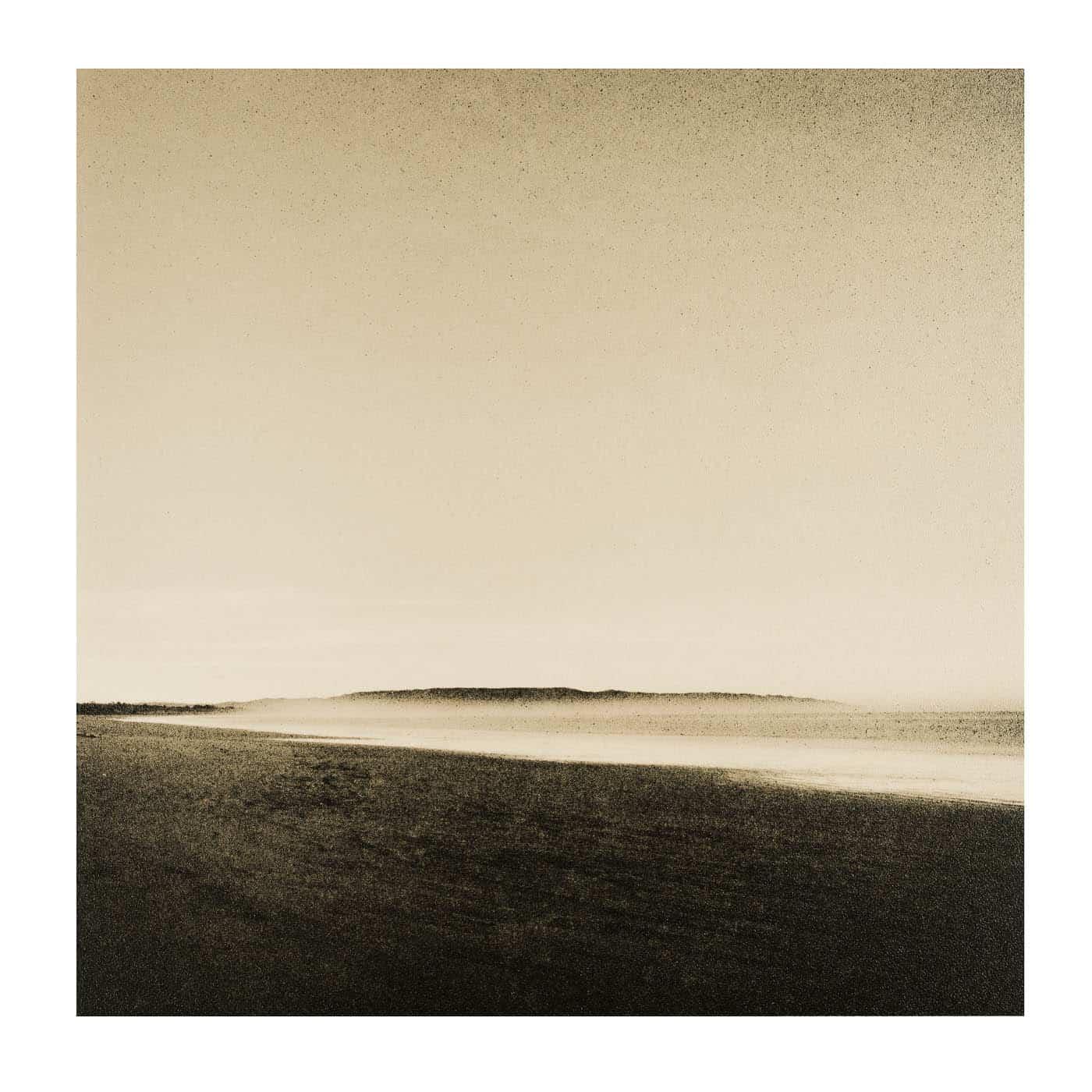 landscape lith print of Pismo Beach California