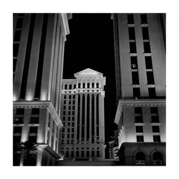 Caesars Palace in Las Vegas at night