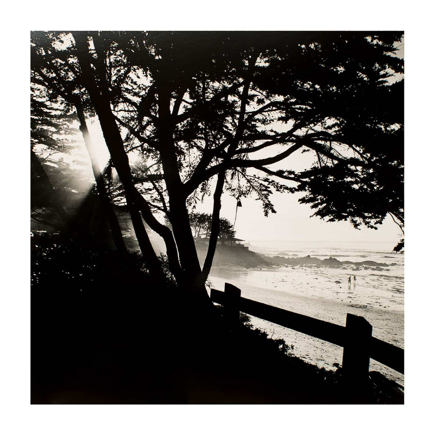 Couple walking on the beach in Monterey California-2